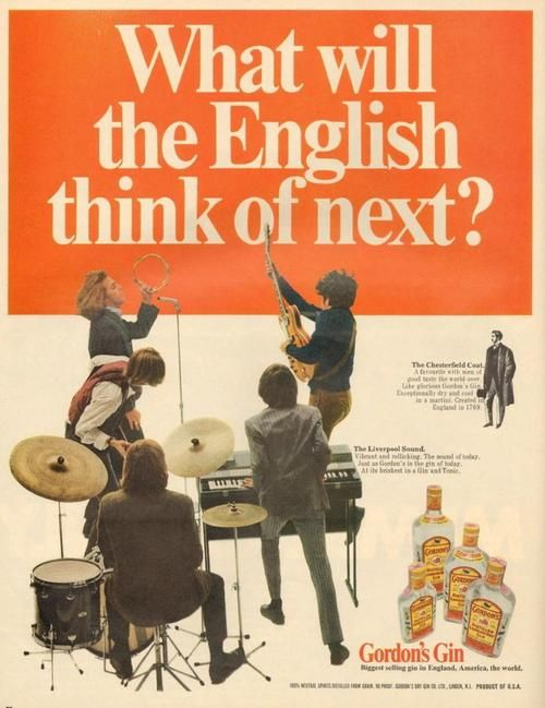 1960s Drink Ad