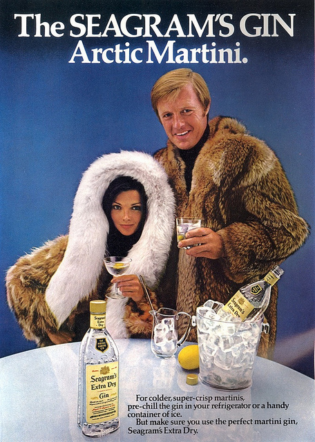 1970s Gin Advert