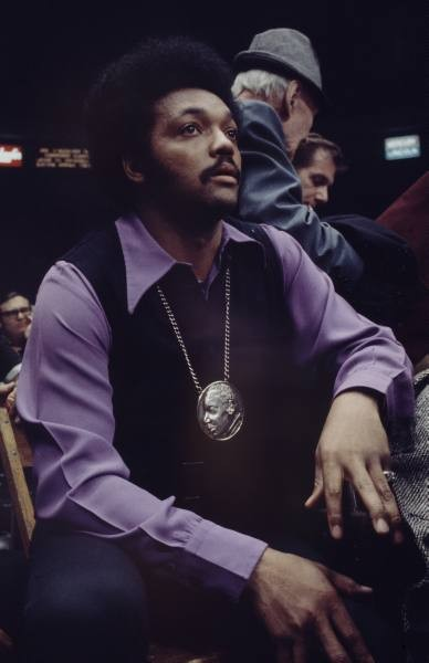Jessie Jackson at Madison Square Gardens 1970