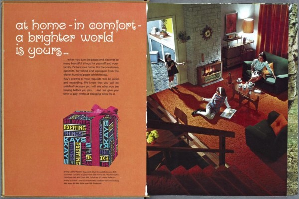 Kay Catalogue 1960s Home Decor