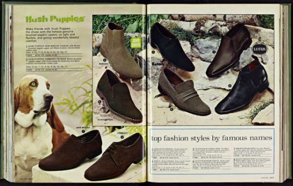 Kay Catalogue 1960s Hush Puppies Mod Shoes