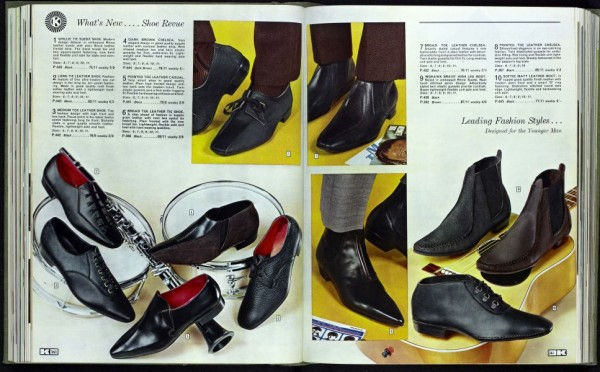 Kay Catalogue 1960s Mod Shoes