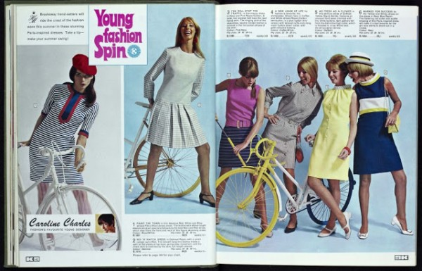Kay Catalogue 1960s girls fashion