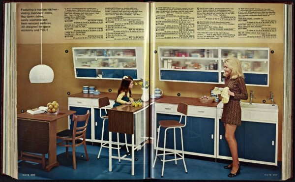 Kay Catalogue 1960s kitchen
