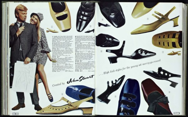 Kay Catalogue 1960s ladies mod shoes