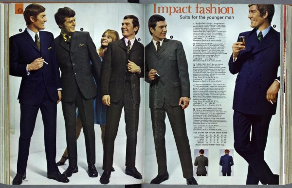 Kay Catalogue 1960s mens mod suits