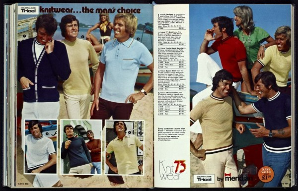 Kay Catalogue 1960s menswear