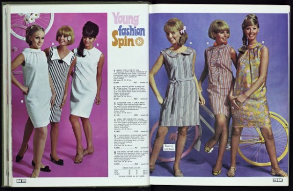 Kay Catalogue swinging sixties girls fashion