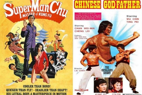 Martial Arts Film Posters