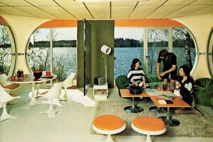 Futuristic Mobile Homes Voices Of East Anglia - Futuristic-house-with-space-age-design