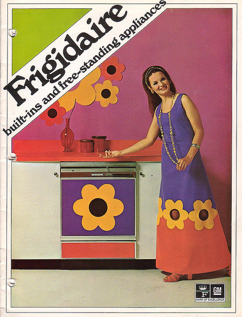 1970s fridge advert