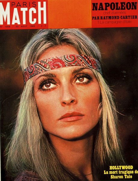 Sharon tate 1969 Paris Match Magazine