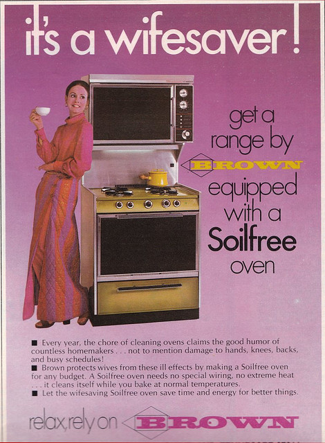 1970s Brown Oven Advert