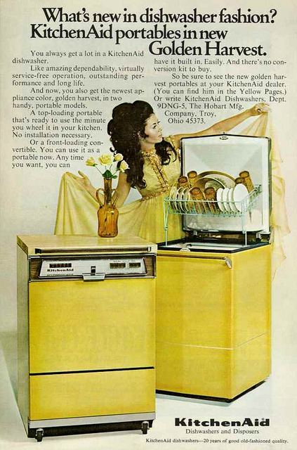 1970s Kitchen Advert