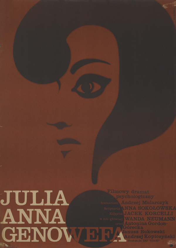 Polish Film Poster 1960s