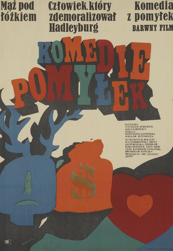 1960s Polish Film Poster Art