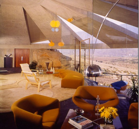 John Lautner - Living Room