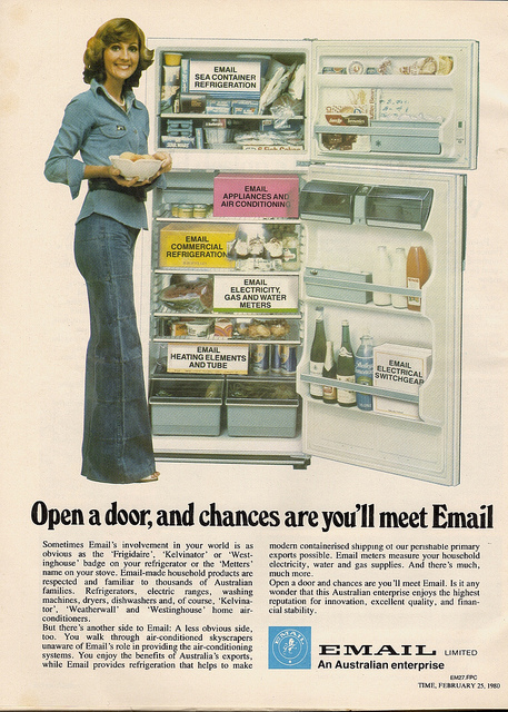 Email Fridge