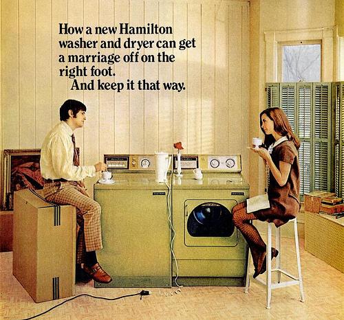 Hamilton 1960s advert