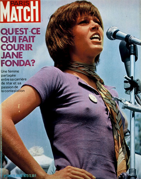 Jane Fonda Paris Match