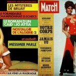 Paris Match Magazine Covers