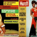 Retro Paris Match Magazine Covers