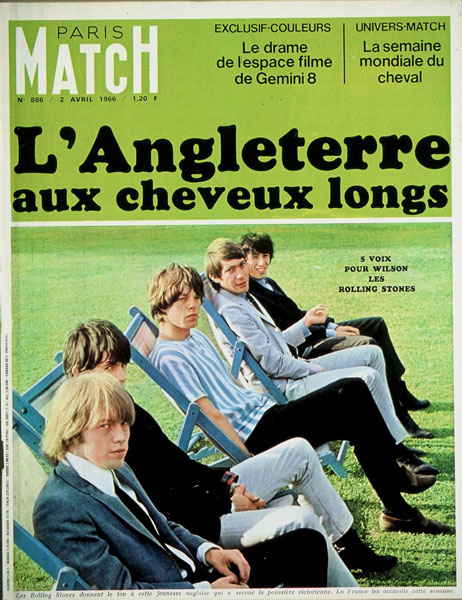 Paris Match Rolling stones