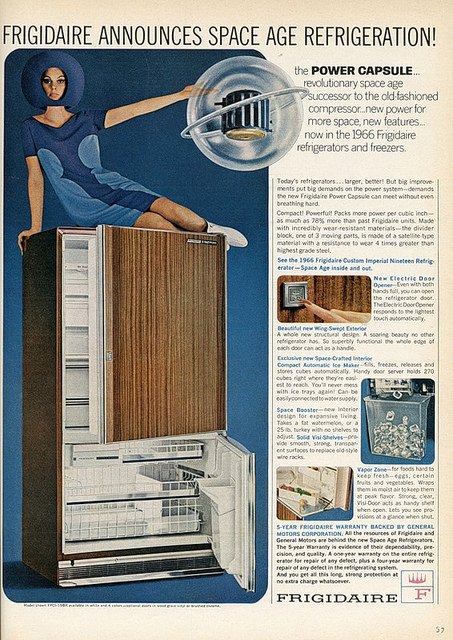 Space Age Fridgidaire