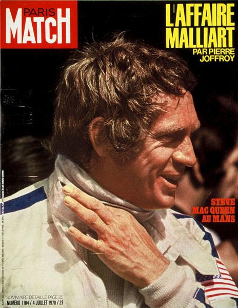 Steve McQueen Magazine Cover