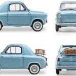 Small and Mighty – The Vespa 400 Microcar
