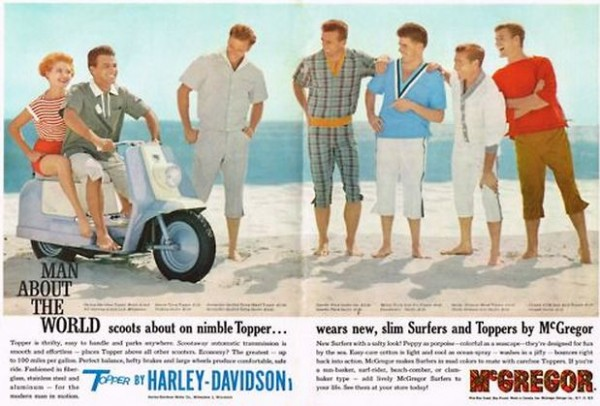 harley davidson scooter 1960s