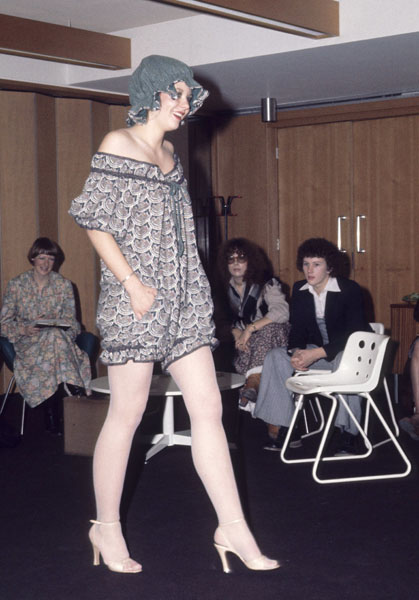 1970s Manchester Fashion Student