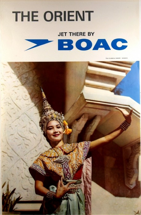 BOAC Poster 1960s