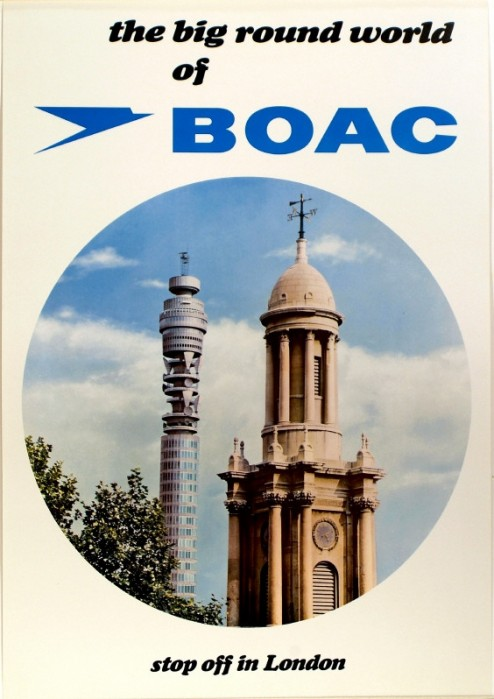 Big Round World of BOAC poster