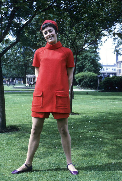 Manchester Fashion Student 1967