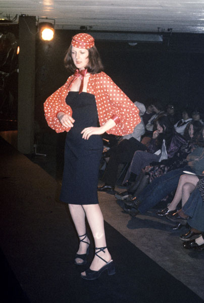 Manchester Fashion Student 1972