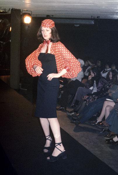Manchester Fashion Student 1972