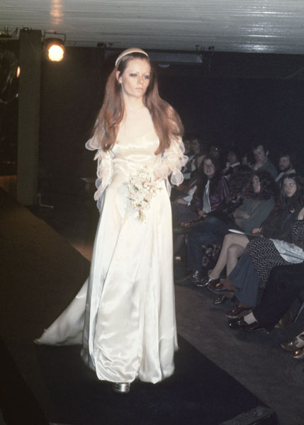Manchester Fashion Student in 1972