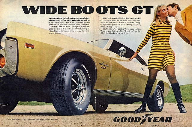1960s Goodyear Advert
