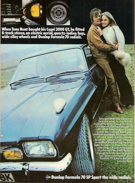 1970s Tyre Advert