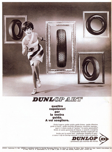 Dunlop 1960s Advert