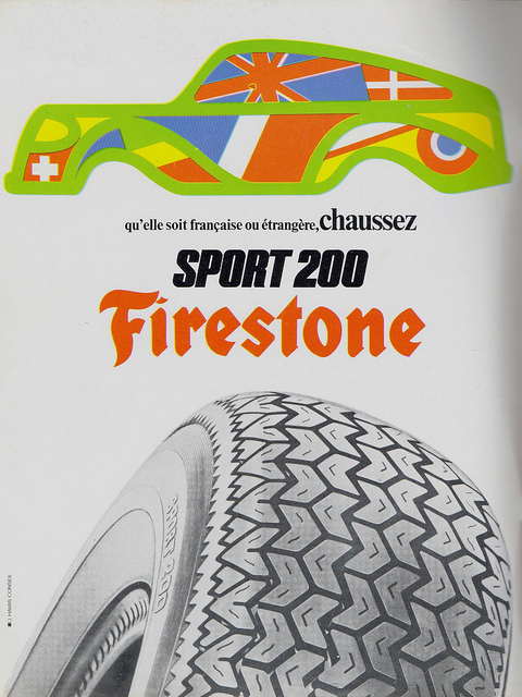 Firestone Tire Advert