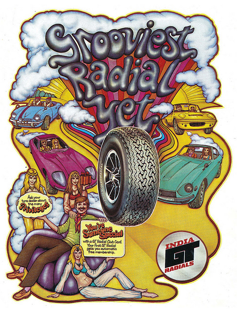 Groovy Radial Advert