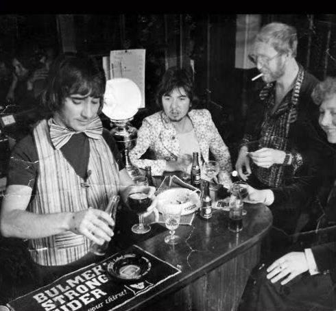 Keith Moon, Ronnie Lane and Vivian Stanshall