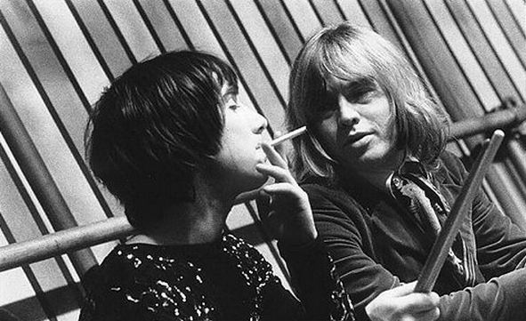 Keith Moon and Brian Jones