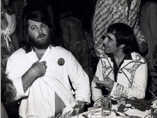 Keith Moon and Brian Wilson