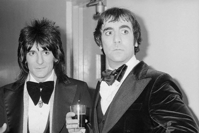 Ron Wood and Keith Moon