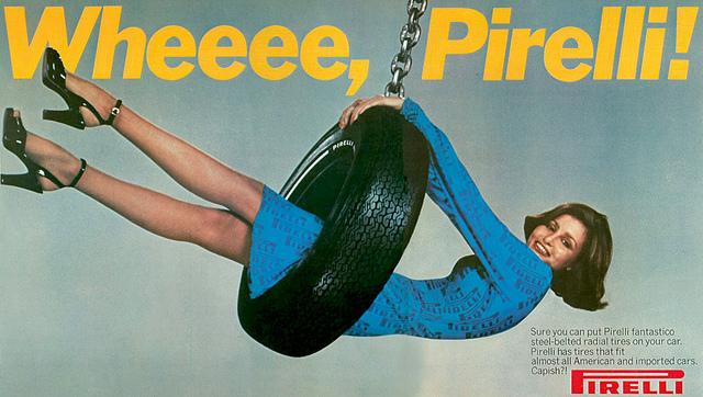 Pirelli 1960s Advert
