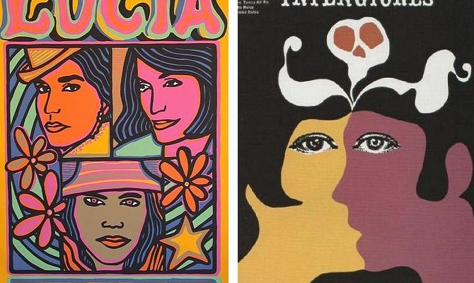1960s Cuban Film Posters Voices Of East Anglia