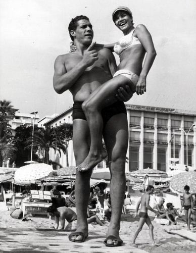 Andre The Giant at Cannes 1967